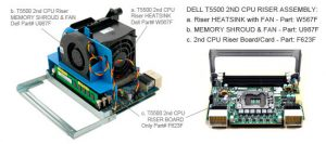 dauchter motherboard T5500