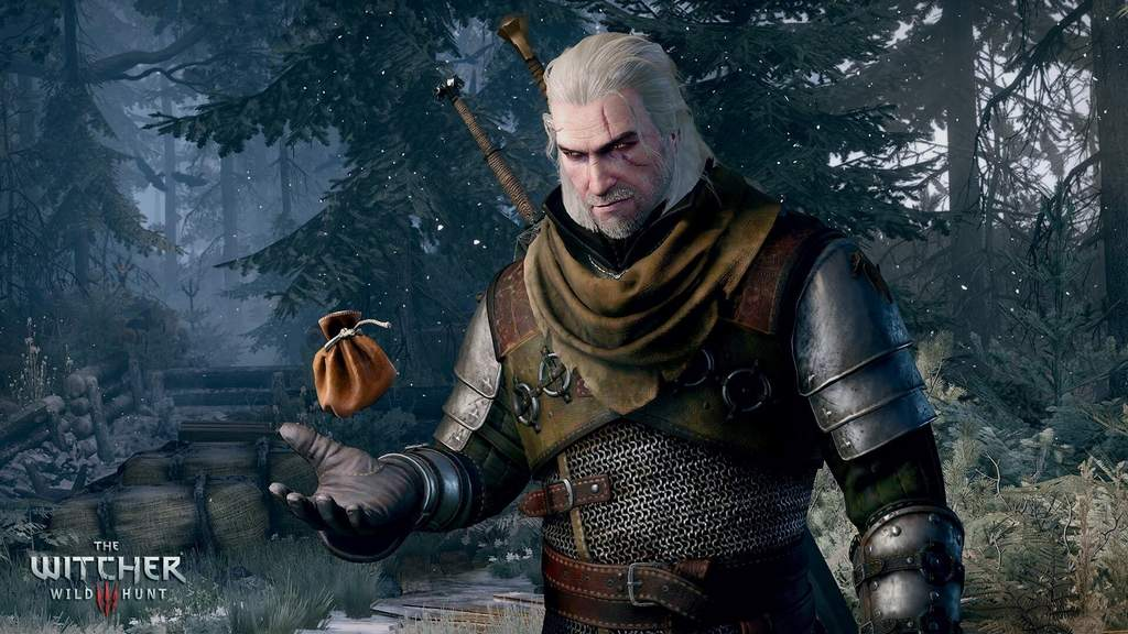 Zaklínač 3 Geralt peníze