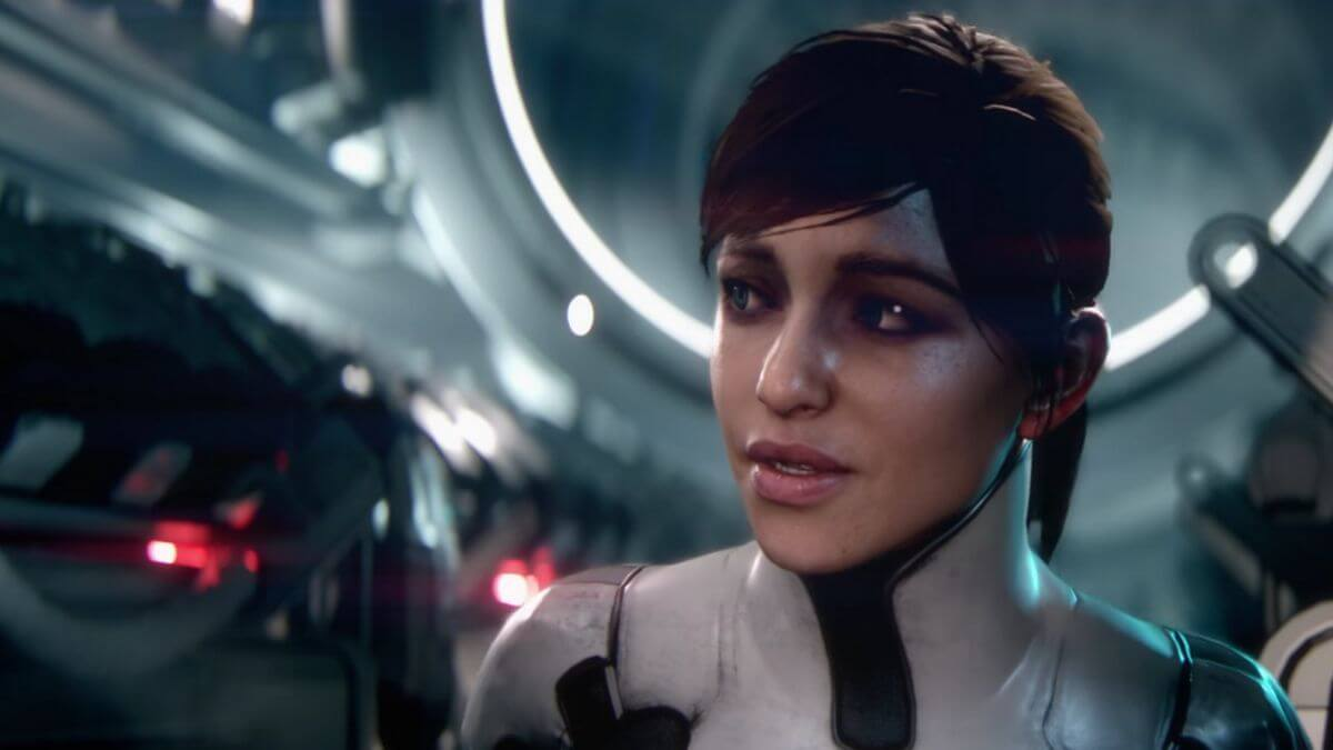 Mass effect Andromeda female character