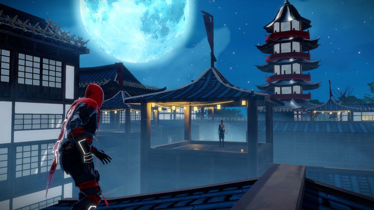 Aragami-screenshot z PC hry