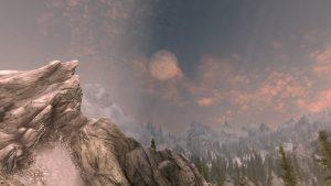 Obloha spolu s větší dohledností a texturami pohoří patří k tomu lepšímu, co přinesl Skyrim SE.