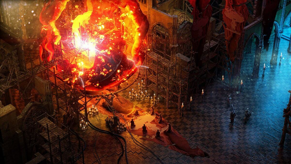 Screenshot z chystané hry Wasteland 3