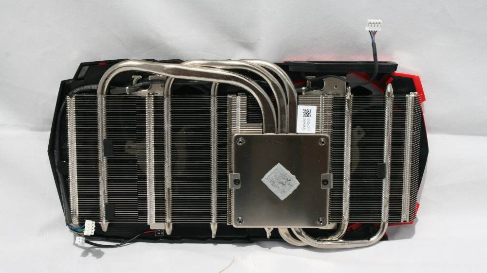 MSI RX 480 Gaming chladič