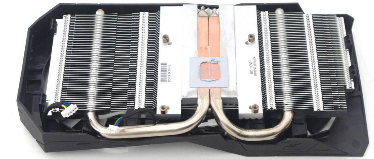 Asus Rog Strix GTX 1050 Ti - chladič