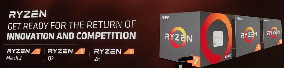 Datum vydání procesorů AMD Ryzen R5 a R3 - Q2 a 2H