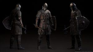 Brnění prokletého vojska, nemrtví protivníci zřejmě musí být v každé fantasy...